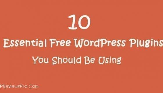 free wordpress plugins you should be using