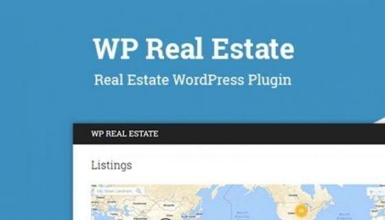 wordpress real estate plugin - wp real estate