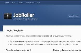 job board wordpress website