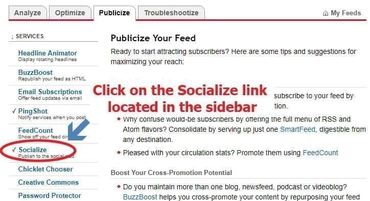 socialize link