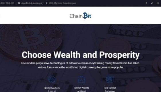 chainbit wordpress theme