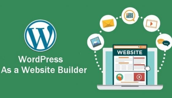 WordPress-as-a-website-builder
