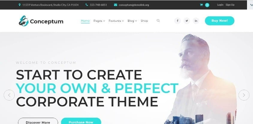 conceptum wordpress theme