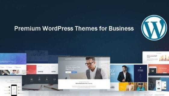wordpress themes for business featured image