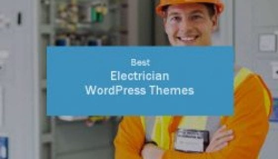 best electrician wordpress themes