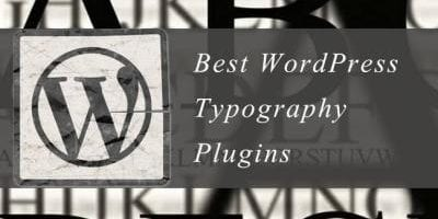 WordPress Typography Plugins
