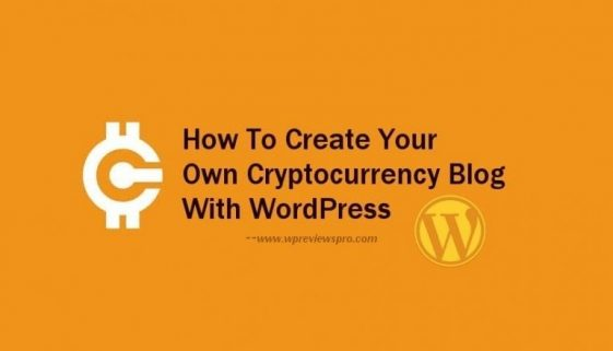 how to create your own cryptocurrency blog