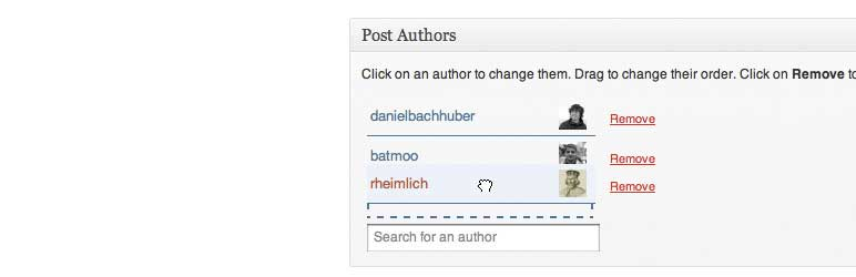 Co-Authors Plus WordPress Author Bio Plugins