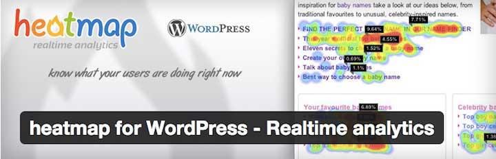 Heatmap for WordPress - Real-Time Analytics