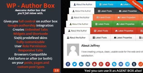 WP Author Box