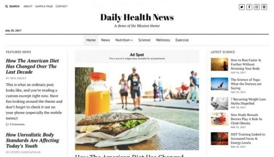 mission news wordpress theme