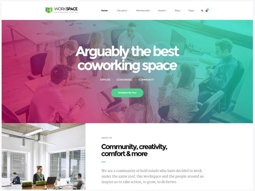 workspace-creative-office-space-wordpress-theme