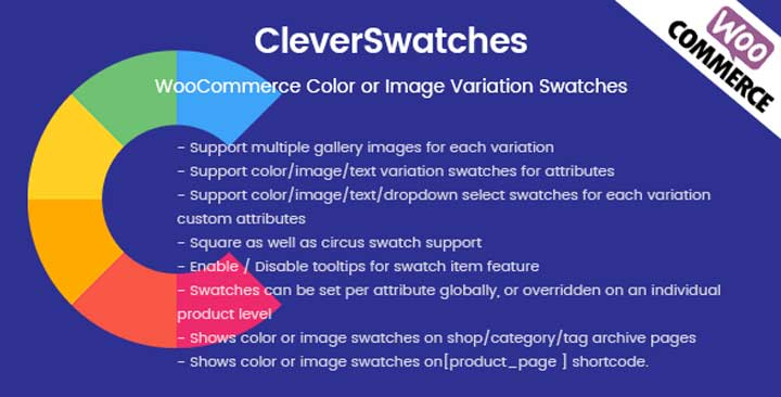 CleverSwatches WordPress WooCommerce Plugin
