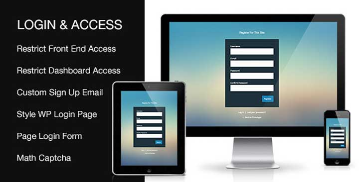 Custom Login & Access WordPress Plugin