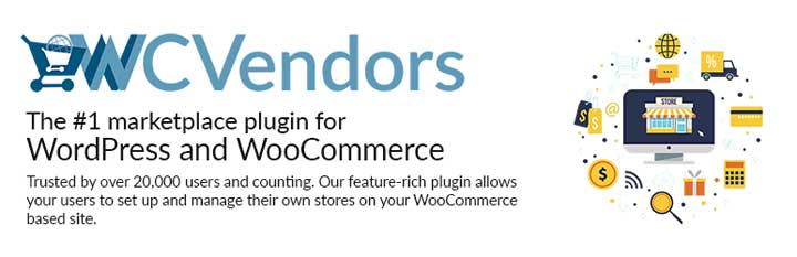 WC Vendor for WordPress WooCommerce