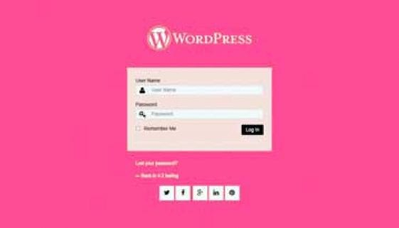 WordPress Custom Login Plugins