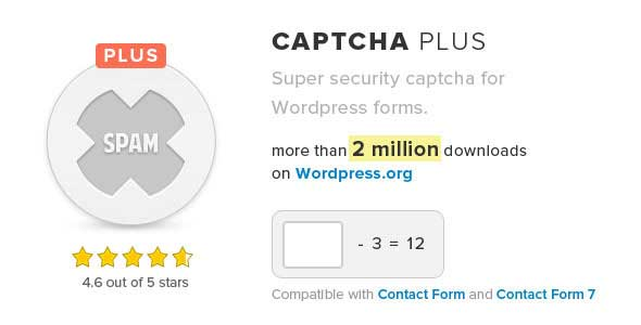 Captcha Plus Plugin