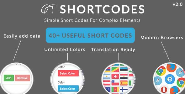 GT Shortcode WP Plugin