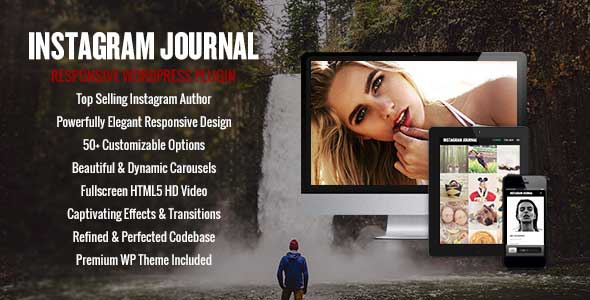 Instagram Journal WordPress Plugin