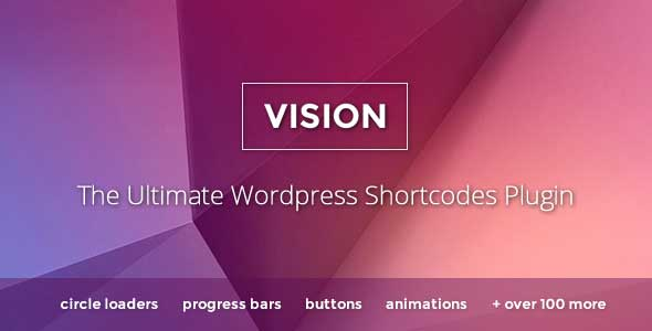 Vision WordPress shortcode plugin