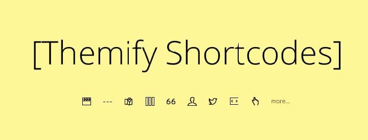 Free Themify Shortcodes Plugin