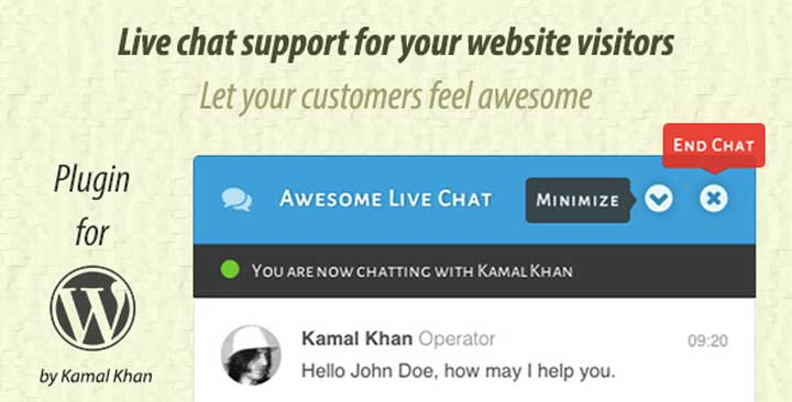 Awesome Live Chat Plugin