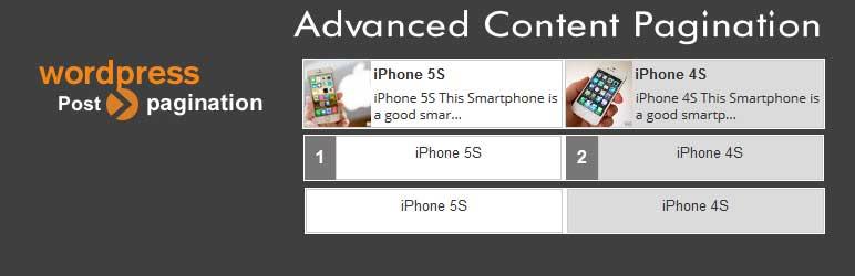 Advanced Content Pagination