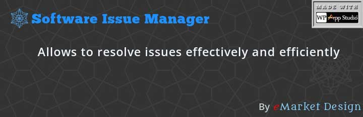 Project Management Software Issue Manager