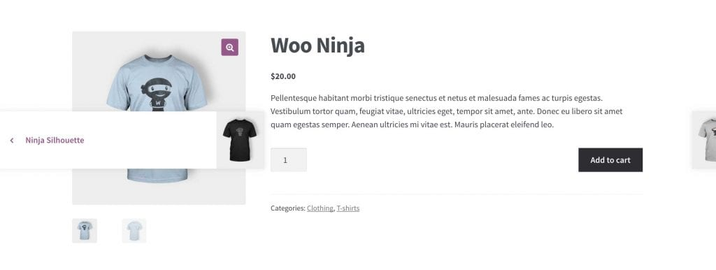 Storefront Product Pagination