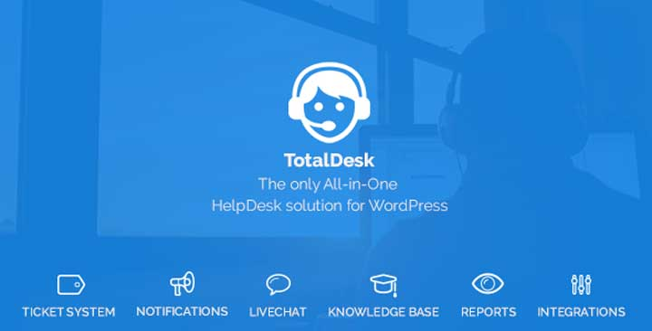 TotalDesk WordPress live chat plugin