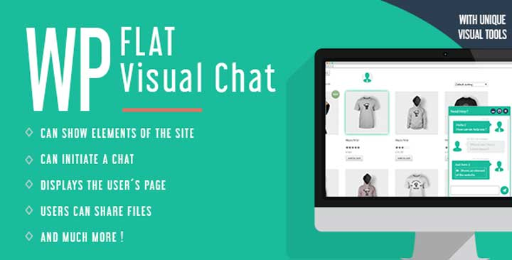 WP Flat Visual Chat
