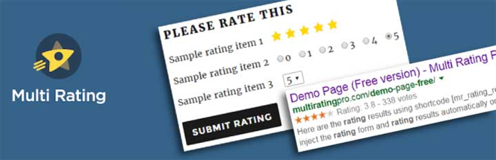 Multi Rating WordPress Plugin