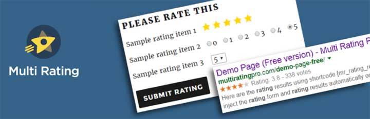 Multi Rating WordPress Plugin