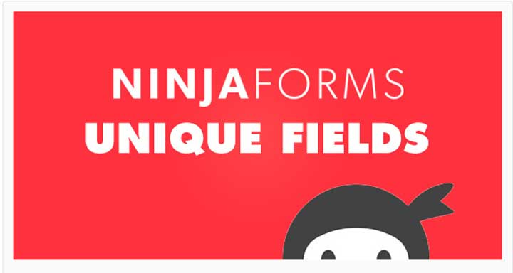Ninja Form-Unique Fields