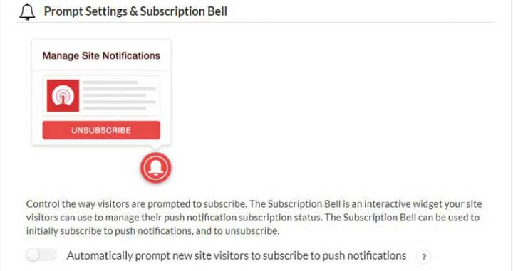 Add WordPress Push Notification