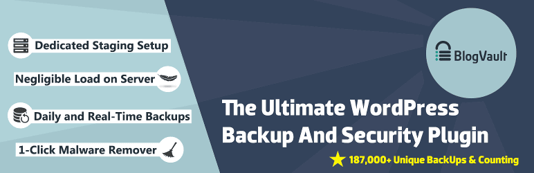 BlogVault Backup Plugin for WordPress