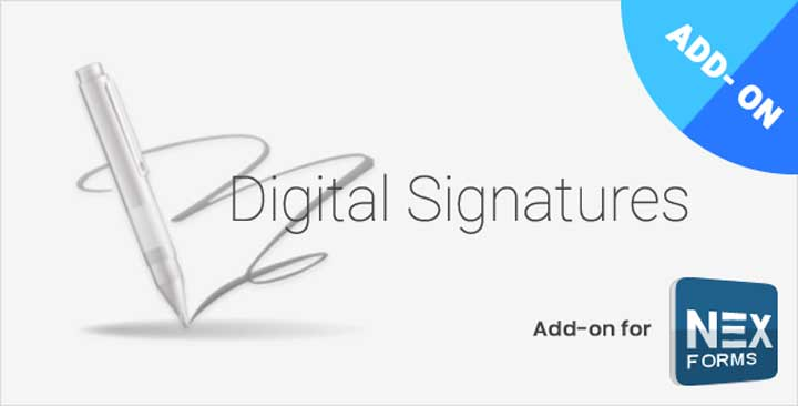 NEX-Forms Digital Signature