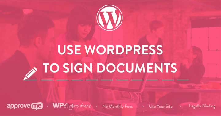 WordPress Signature Plugins