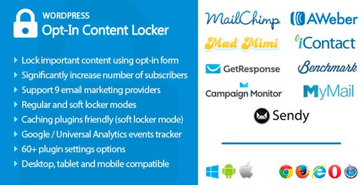 Opt-In Content Locker for WordPress