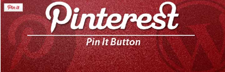 Pinterest pin it button on image hover plugin