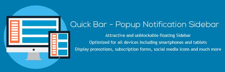 Quick Bar Notification Plugin