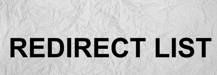 Redirect List