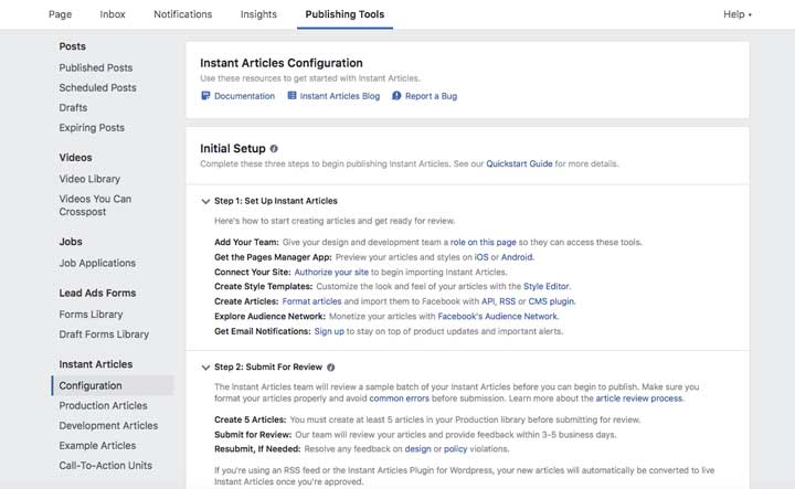 How to Setup Facebook Instant Articles on WordPress? - WPNeon