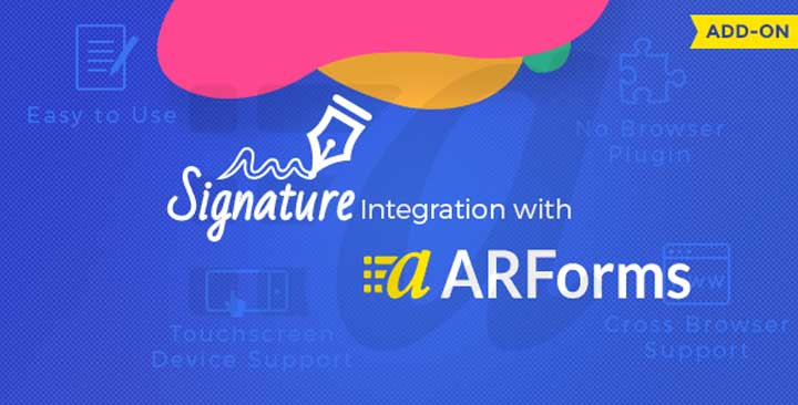 ARForms Signature Addon