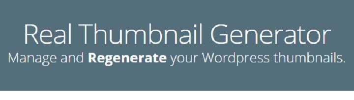 WordPress Real Thumbnail Generator