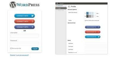 WordPress Social Login Plugins