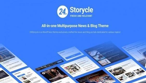 24storycle wordpress theme
