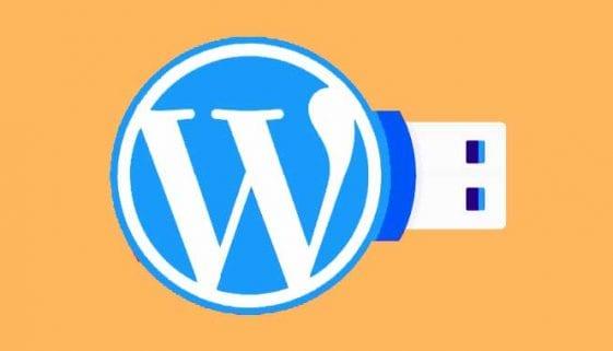 Install WordPress on a USB Flash Drive
