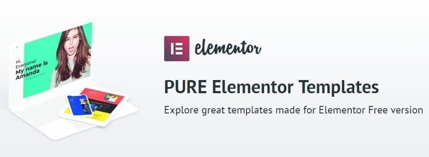elementor templates by templatemonster