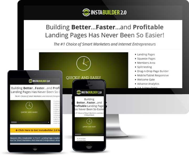 InstaBuilder Landing Pages